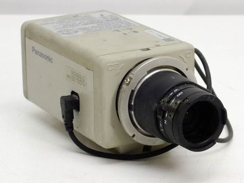 "Panasonic WV-BP334 1/3"" B&W CCD Surveillance Camera"