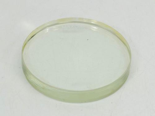 """Maxos 8488 3/4"""" x 5"""" Borosilicate Molded Circular Sight Glass 100PSI - NOB"""