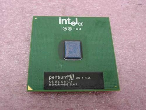 Intel PIII 933MHz Processor 933Mhz/256/133/1.7V (SL4C9)