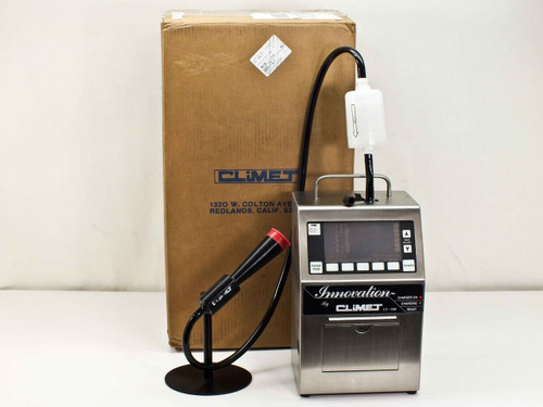 Climet CI-500  Particle Counter w/ Sample Probe Stand Calibrated