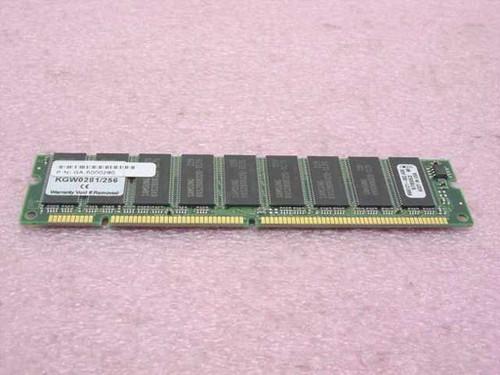 Kingston 256MB Memory , DIMM 168 pin, SDRAM, non parity KGW0281/256
