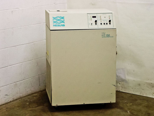 Neslab HX-150 Recirculating Chiller - Water Cooled *Missing Pump* 208VAC 13A