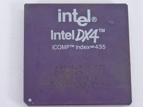 Intel  SX871  DX4 A80486DX-100 Processor