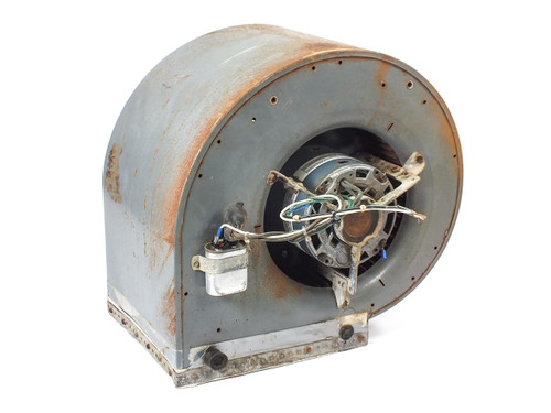 GE 5KCP39MG Motor 1/3 HP 1075 RPM 115 VAC 6.6A with Blower and Housing
