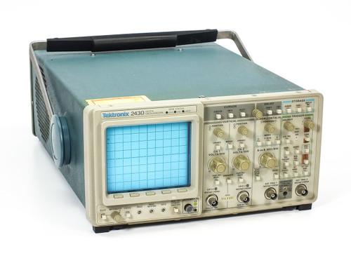 Tektronix 2430 Digital Oscilloscope 150MHz 100MSa/s 2-CH -AS-IS 6100 ERROR