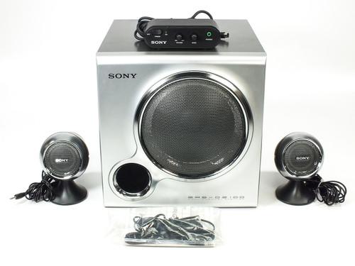 Sony SRS-D2100 2.1 Multimedia Speaker System +100W