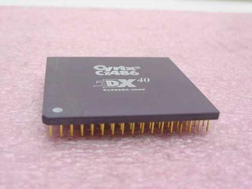 Cyrix Cx486 Processor 40 Mhz Cx486DX-40GP