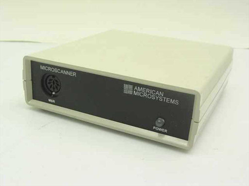American Microsystems Dual Tract Magnetic Card Reader Transcei MSR