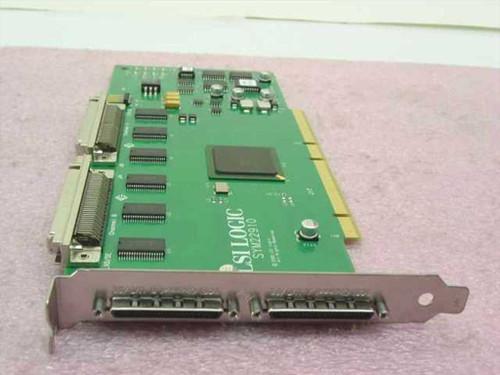 LSI Logic Dual Channel PCI-2 Ultra2 SCSI Adapter (SYM22910)