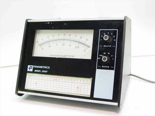 Panametrics Hygrometer - Vintage Moisture Analyzer System (Model 2000)