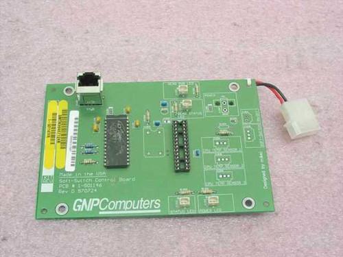GNP Computers PDSi Soft-Switch Control Board 1-501146 SMTK98467124B