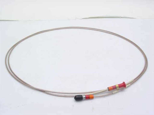 """Times Coaxial Cable with SMA/M-F (~7 ft) long 1/8"""" Diameter"""