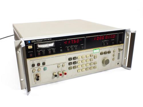 HP 3586C Selective Level Meter Rackmount 4U