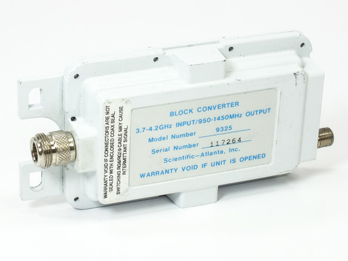 Scientific Atlanta Block Converter 3.7~4.2 GHz to 950~150 HMz - Satellite (9325)