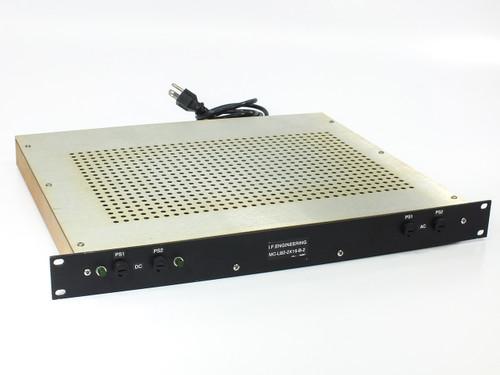 I.F. Engineering MC-LB2-2x16-B-2 2-Channel 16-Port Distribution Box 1U 120VAC