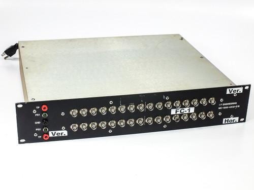 I.F. Engineering MC-1200-4X32-F/B 32-Port Distribution Box w/ (1) AAK CM244