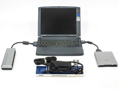 Toshiba PAP301U-T2W5 3010CT Notebook PC Computer PI 266MHz 4.1GB HDD 32MB RAM