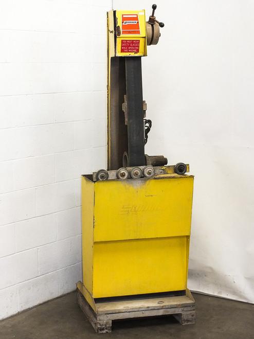 """Sommer and Maca 106E-24RP 4"""" x 106"""" Wet Abrasive Belt Sander w/ Roller Platen"""