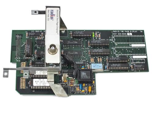 Radius 630-0046-B Two Page Display Card