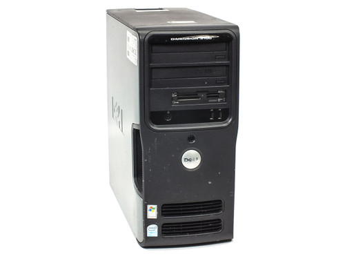 Dell Dimension 3100 Desktop PC P4 3GHz 160Gb HDD 1GB RAM DVD-COM CD-RW