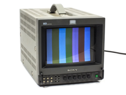 "Sony PVM-8044Q Trinitron 8"" Color Video Studio Monitor"