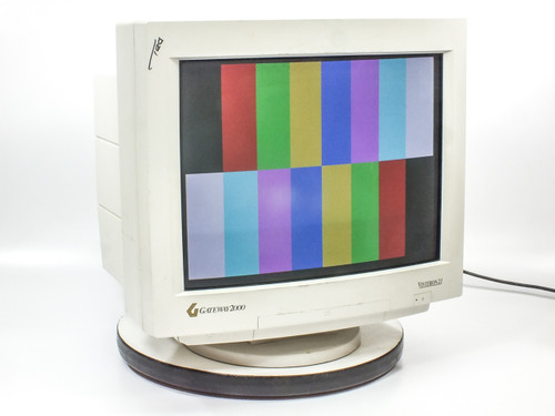 "Gateway VIVITRON21 21"" CRT Monitor with VGA and BNC Input - Gateway2000"
