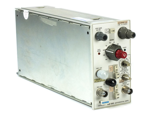 Tektronix AM502 Differential Amplifier Plug-In Module