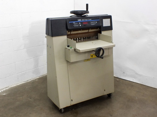 "Challenge AM Multigraphics Multi 2020 20"" Hydraulic Paper Cutter 120V"