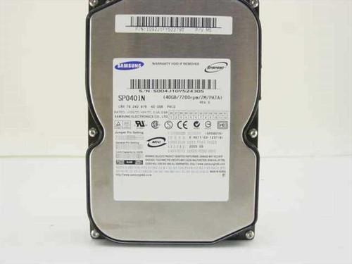 "Samsung 40GB 3.5"" IDE Hard Drive SP0401N"