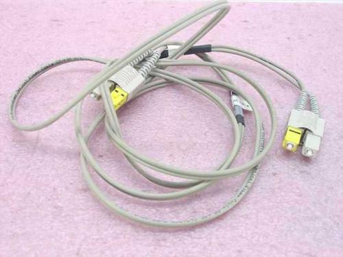 Sun 2m Fiber Optic Cable 50/125 E121250 tpe OFNP (UL (537-1004-01)