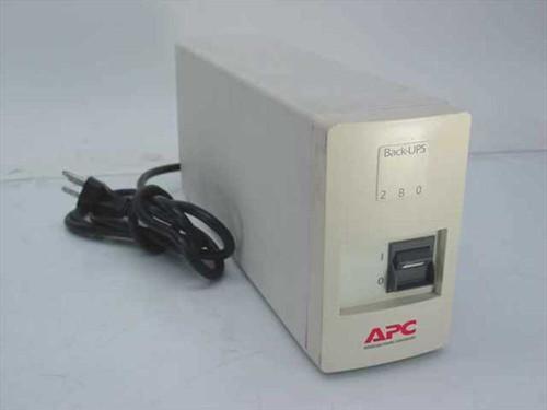 APC 280 VA Back-UPS 280 UPS BK280B - No Battery Included (280)