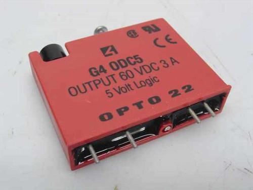 OPTO 22 G4 DC Output, 5-60 VDC, 5 VDC Logic (ODC5)