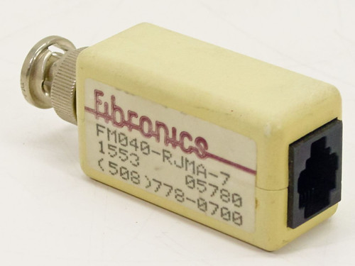 Fibronics RJ11 to BnC Cable Adapter for Networking FM040-RJMA-7
