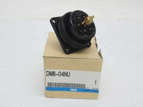 SMC NSFP Pneumatic Multi-Pin Connector Circular (DM6-04NU)