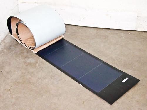 "Uni-Solar PVL-136 Flexible 24V 136W Amorphous Solar Panel with 4"" Wires"