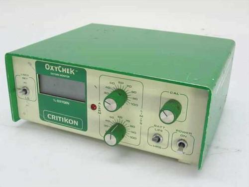 Critikon Oxychek Oxygen Monitor 9 VDC (2000)