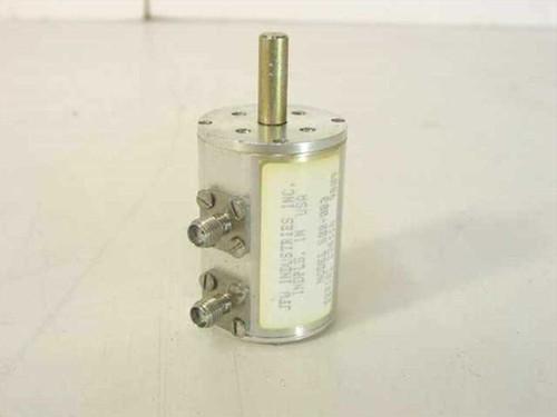 JFW Industries Rotary Attenuator DC-2GHz 1 dB/ SMA 50R-083