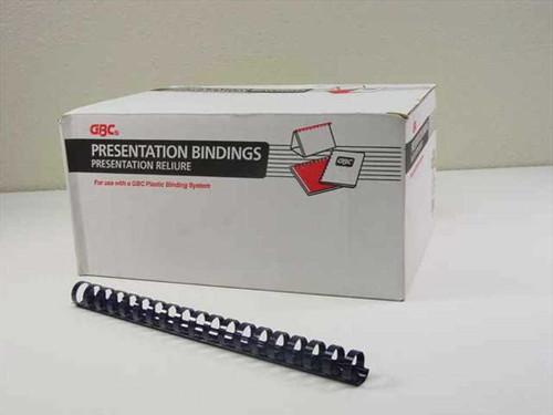 "GBC 3/4"" Navy Plastic Binding Combs - 82 pcs. (4014185)"