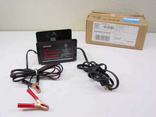 Sears EIA-413 1.5 Amp 12 Volt Battery Charger