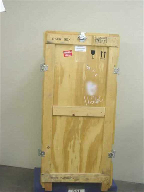 """Wooden Heat Treated Wooden Packaging Crate 27"""" x 25"""" x 58"""""""