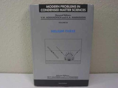 Halperin, W.P./ Pitaevskii, L.P. North Holland Book Company-1990 Helium Three