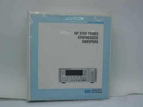 HP Synthesized Sweeper Manual Vol 1 08360-90070 (8360)