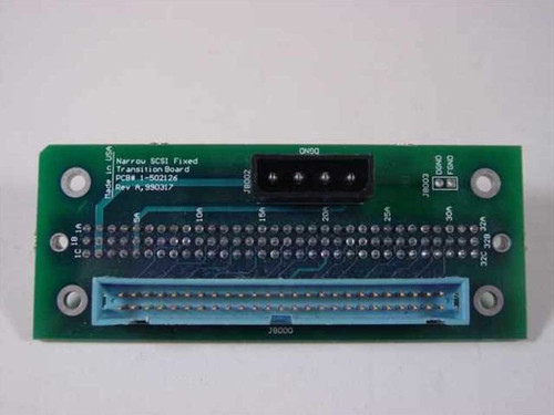 GNP PDSi Narrow SCSI Fixed Transition Board 1-502126