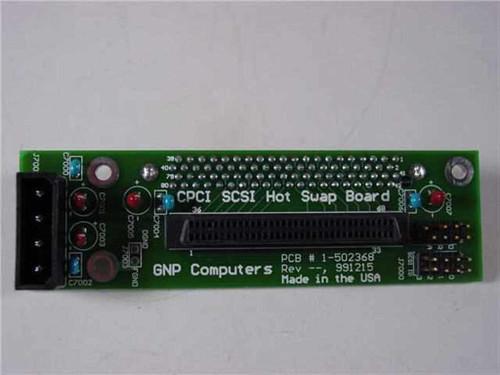GNP Computers 1-502368 PDSi CPCI SCSI Hot Swap Board