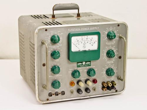 Klystron 0-1000 VDC High Voltage DC Power Supply Z819B
