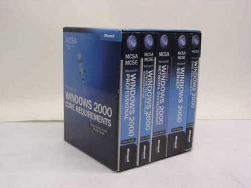 Microsoft Microsoft Windows 2000 Core Requirements