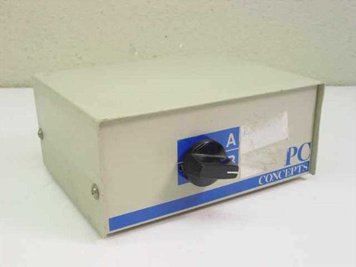 PC Concepts 25 Pin Data Switch (2 Way Switch)
