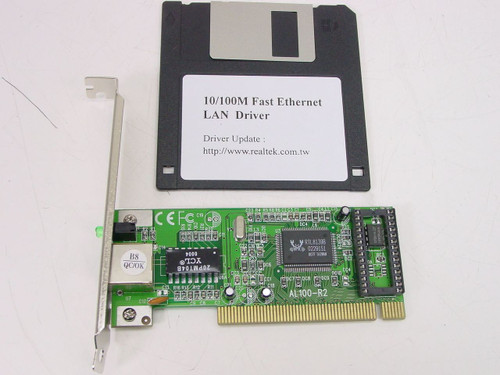 Asound Ethernet PCI 10/100 Dual-Speed Adapter (AL100-R2)