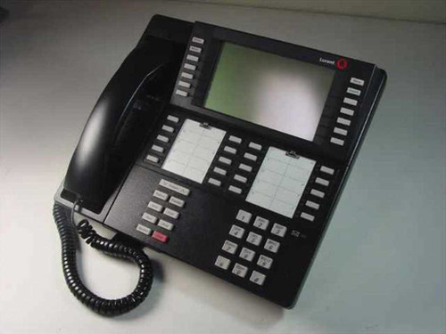 Lucent MLX-20L 20-Line Office Phone with Display and Handset - BLACK