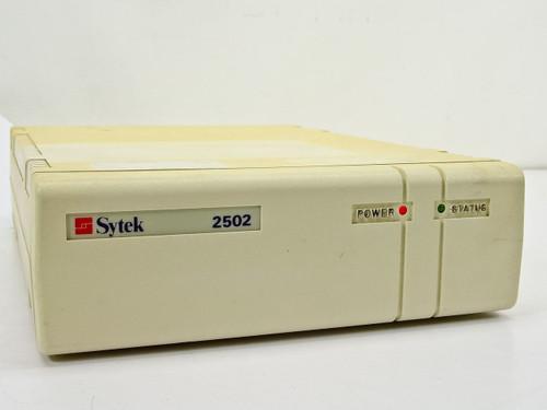 Sytek Modem 2502 RF Connector and 9-Pin DC Power